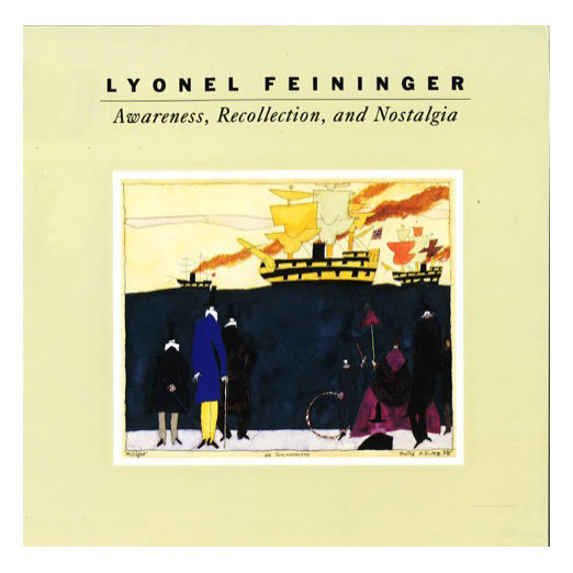 Catalogue cover for Lyonel Feininger