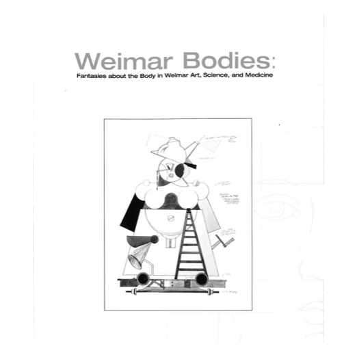 Catalogue cover for Weimar Bodies