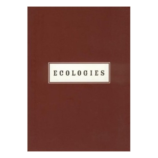Catalogue cover for Ecologies