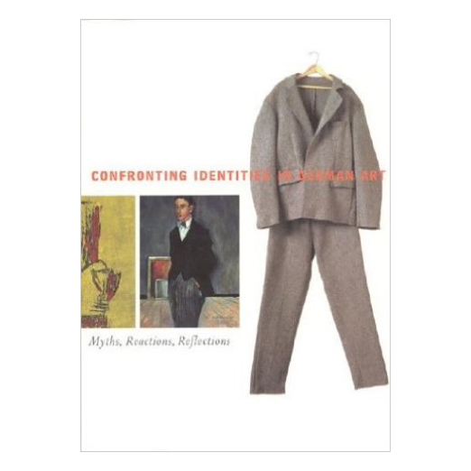 Catalogue cover for Confronting Identities in German Art
