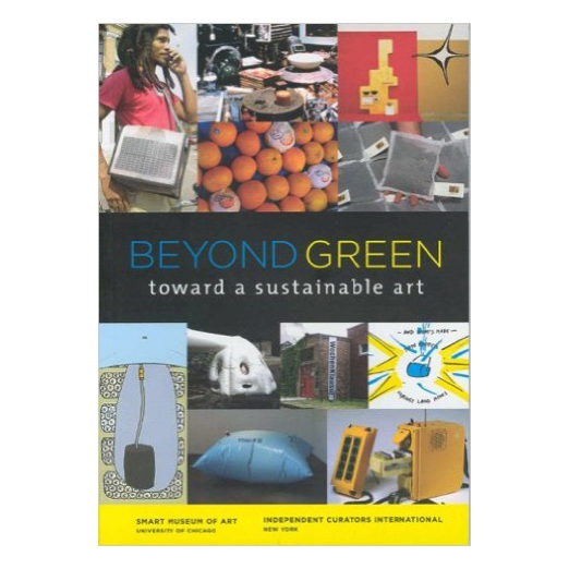 Catalogue cover for Beyond Green