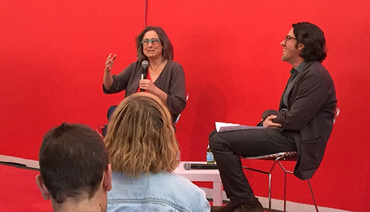 Jessica Stockholder and Sean Keller in conversation