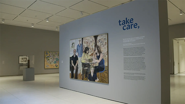 Exhibition view of Take Care