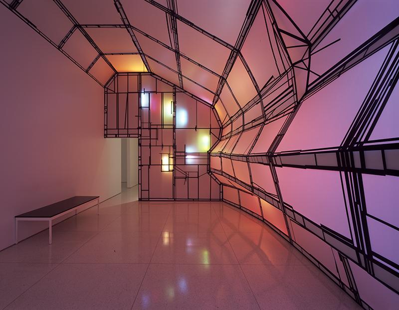 Stephen Hendee installation, Dead Collider (2004)