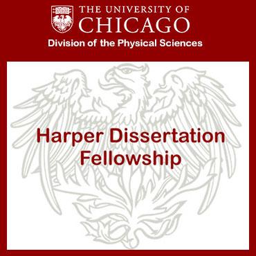 Slideshow featuring misc awards - second slide: Harper Dissertation Fellowship