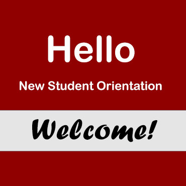 Orientation Welcome Sign