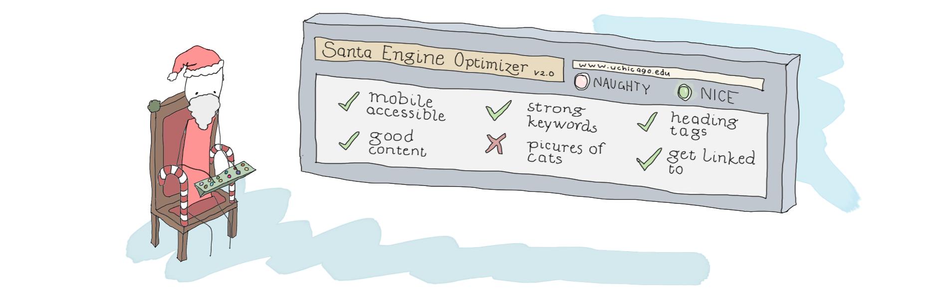 Santa's SEO checklist