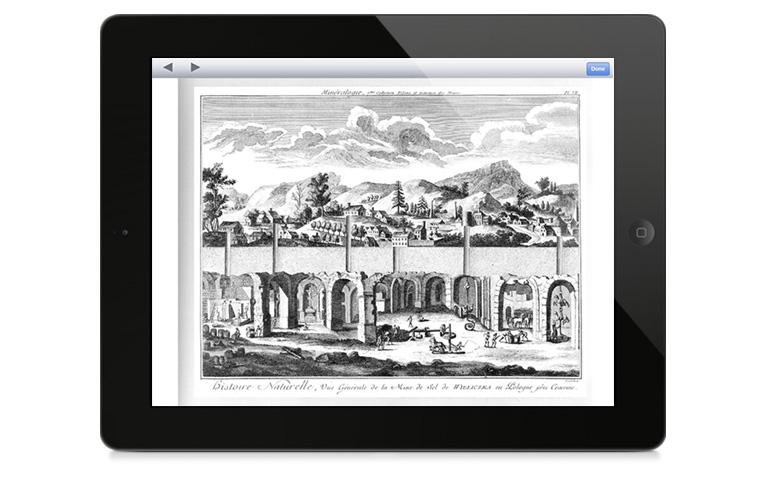 Encylopedie iPad app