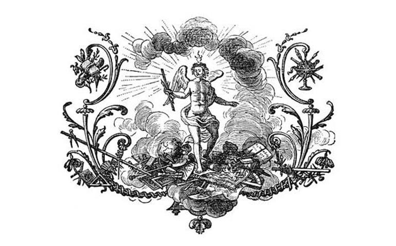 Encylopedie title screen illustration