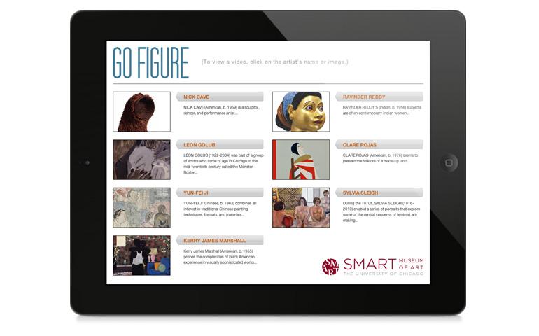 Go Figure app on an iPad