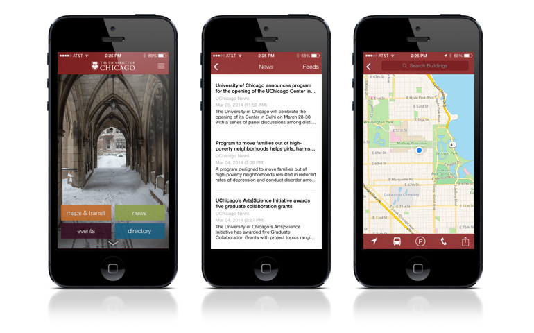 The new UChicago mobile app