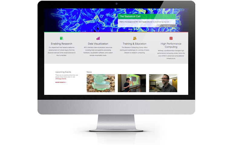 Research Computing Center home page