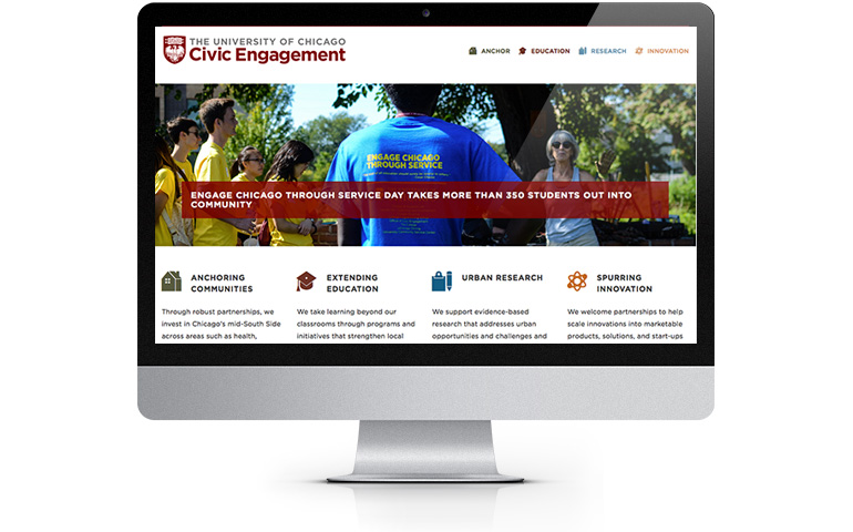 Homepage for the Office of Civic Engagement