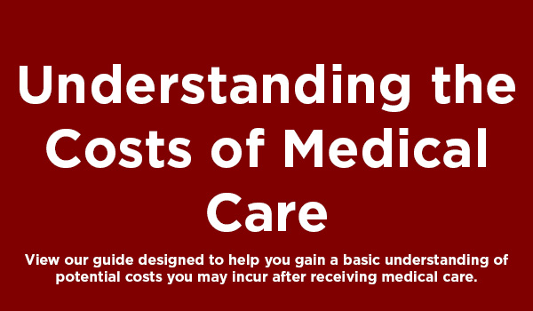 Understanding the Costs of Medical Care