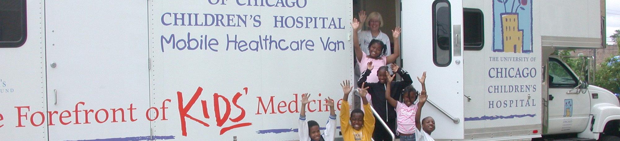 Comer's Healthcare van