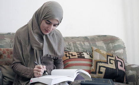 Isra Bhatty, AB'07, said that the inspiration for her first prison visit came from something she read in the Quran during her first year at the University of Chicago.