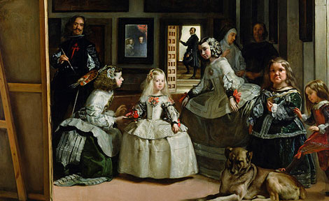 College students visited Madrid as part of their European civilization course to view Las Meninas by Diego Velázquez, which has been called the best painting in the Western world.
