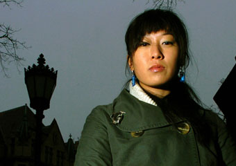 Cristina Moon, AB' 05, began as a student activist. Now she dedicates her career to the plight of the Burmese people.