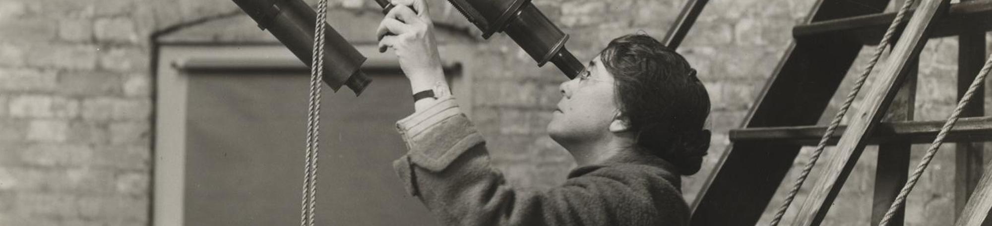 Mary Calvert, Astronomy Assistant, 1900