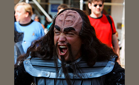 Worf from Star Trek
