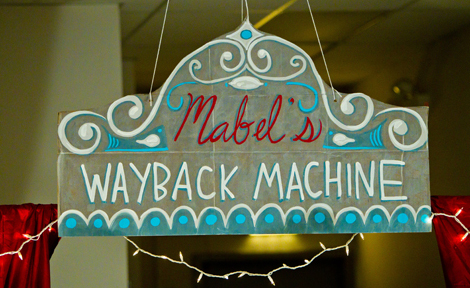 """Mabel's Wayback Machine"""