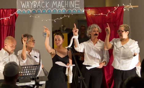 "Performers at ""Mabel's Wayback Machine"""