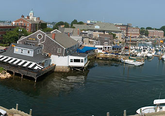 A view of MBL across Eel Bay in Woods Hole, Mass.