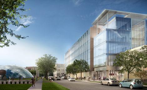 eckhardt center rendering