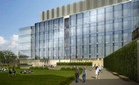eckhardt center rendering