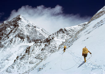 barry bishop climbing mount everest