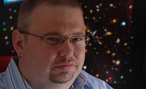 Michael Gladders, Assistant Professor in Astronomy & Astrophysics