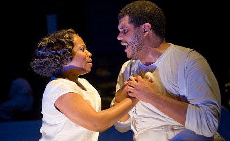 Alexis J. Rogers as Bess and Todd M. Kryger as Porgy