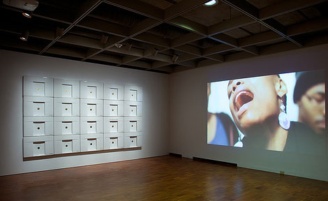 "Installation view of ""To Speculate Darkly"""