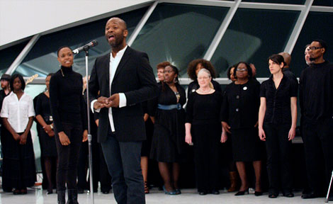 """Theaster Gates in """"Thumping Wisconsin"""""""
