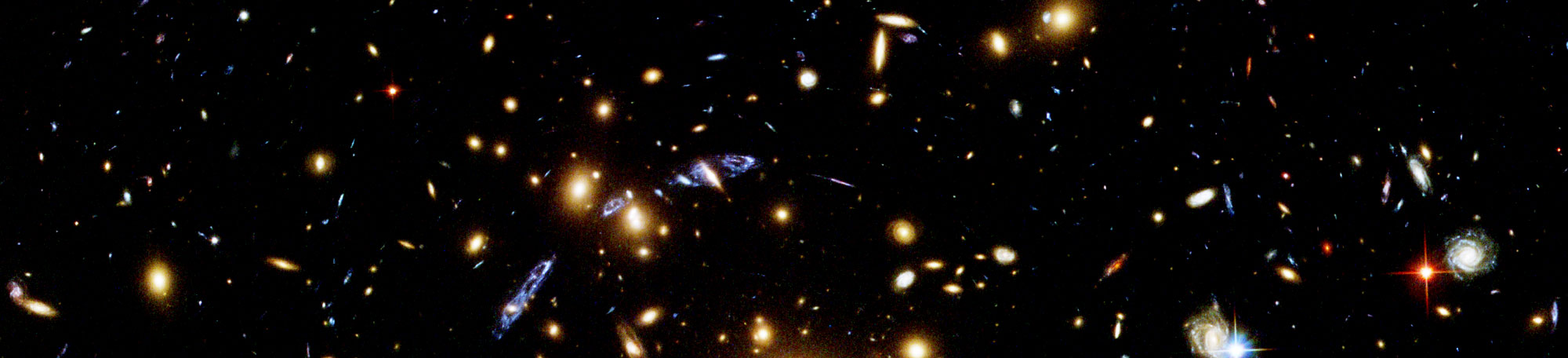 An image from the Hubble telescope