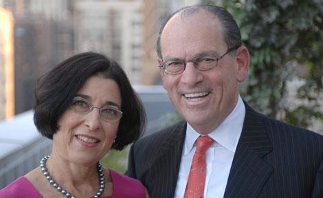 Joseph Neubauer and Jeanette Lerman-Neubauer
