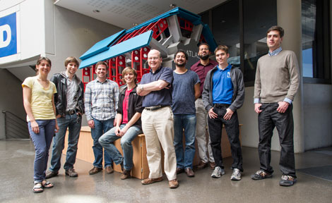members of the UChicago ATLAS Group