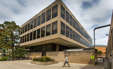 UChicago's High Energy Physics Building