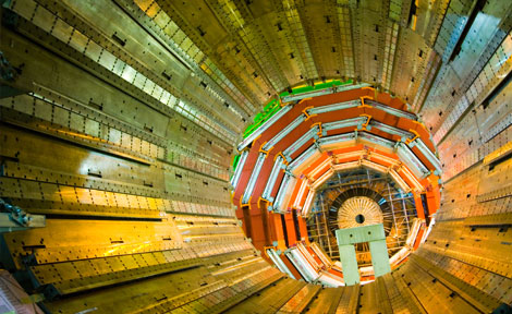 central section of the detector
