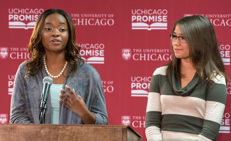 UChicago first-year Chloe Glispie