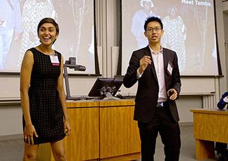 Sonia Chokshi and Patrick Ip of Kip Solutions