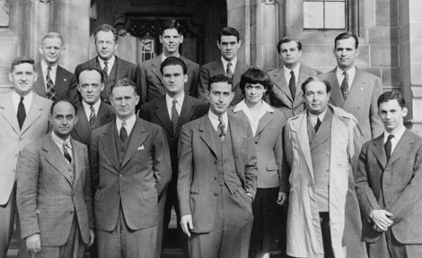 Scientists who worked on the first nuclear chain reaction