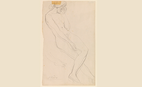 Nude by Auguste Rodin