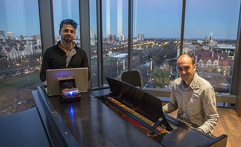Josiah Zayner and Francisco Castillo Trigueros