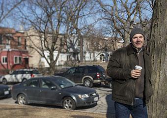 David Auburn in Hyde Park scene