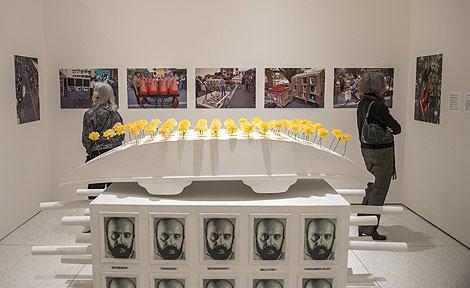 Sahmat Collective installation at Smart Museum of Art