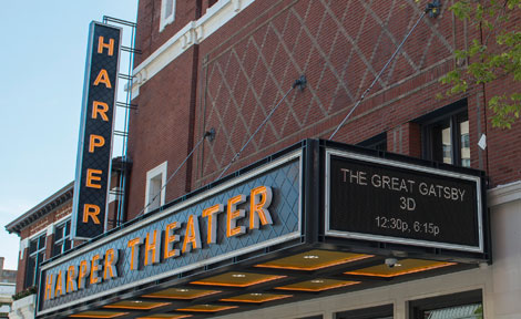 Harper Theater in Hyde Park, Chicago