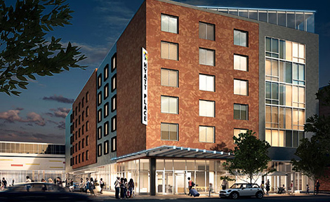 Hyatt Place hotel in Hyde Park, Chicago