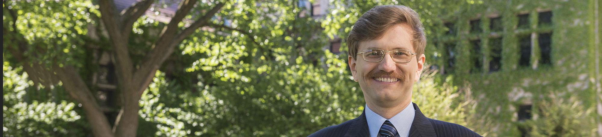 UChicago PhD student Anton Sinitskiy