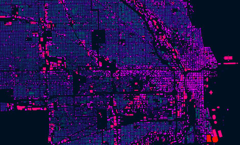 Data visualization of city of Chicago